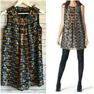 Anna Sui dress metallic NWOT